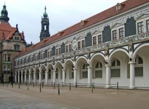 der Stallhof in der Dresdner Altstadt