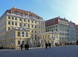 Dresdner Neumarkt - Coselpalais